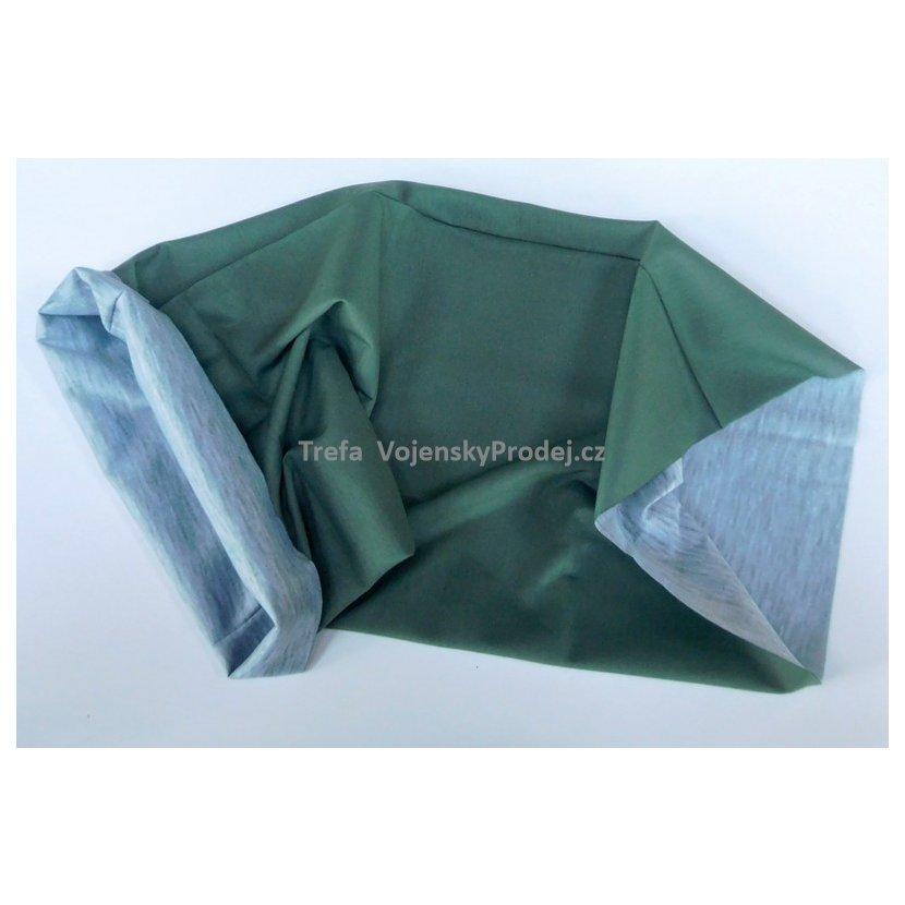 ... Multifunkční šátek zelený OLIVA 6dd842bcf3