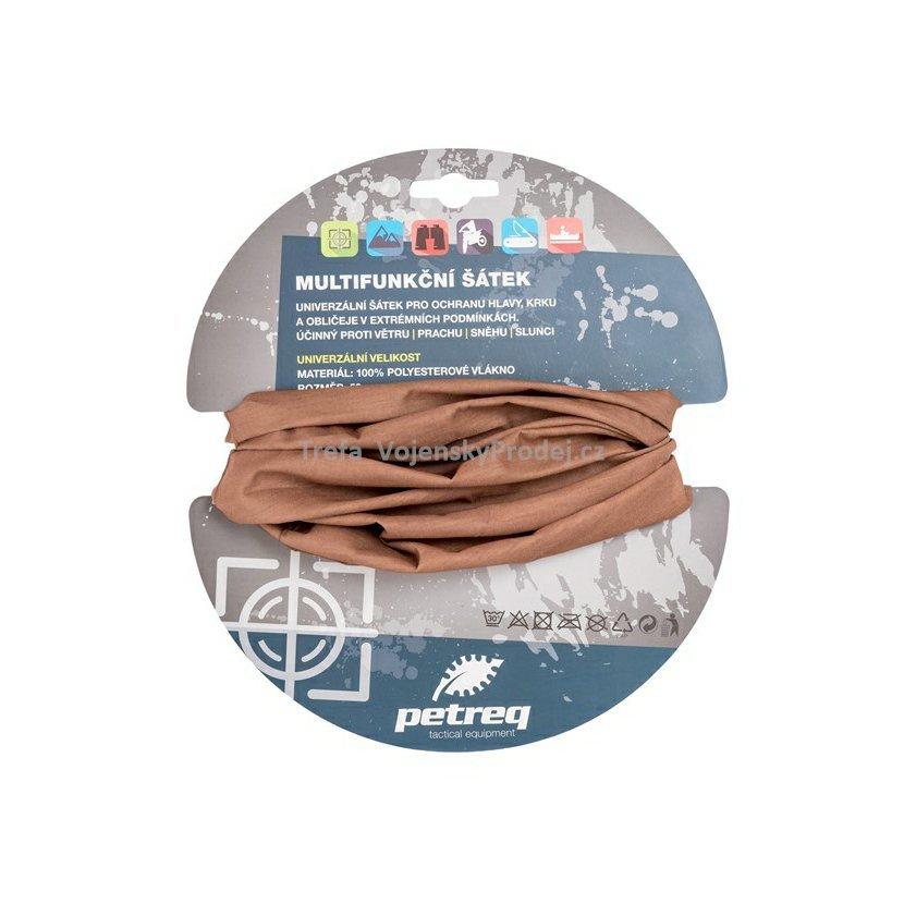 Multifunkční šátek zelený pískový COYOTE e0f506dcb8