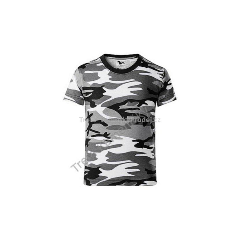 8ea1014c1d7 Tričko dětské Camouflage Urban