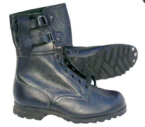 b07cd6b6fee1 Kanady vz.60 černá pracovní obuv s přezkami